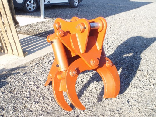 Grapple designed by Kopu Engineering to clients specifications