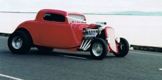 Blown & Injected 1934 Ford Coupe