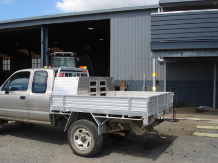 Dog Box Fitted to Ute
