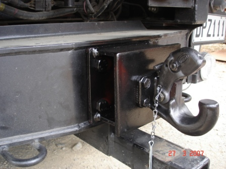 Certified Pintal Towing Attachment